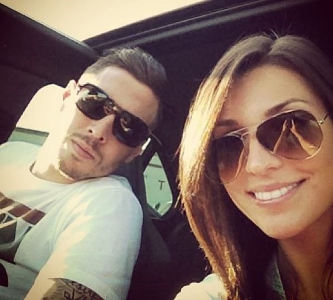 Geoff Cameron with sweet, Girlfriend Lindsay Hagopian