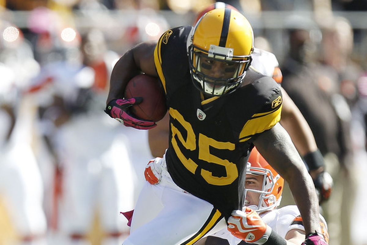Ryan Clark in action for the Pittsburgh Steelers