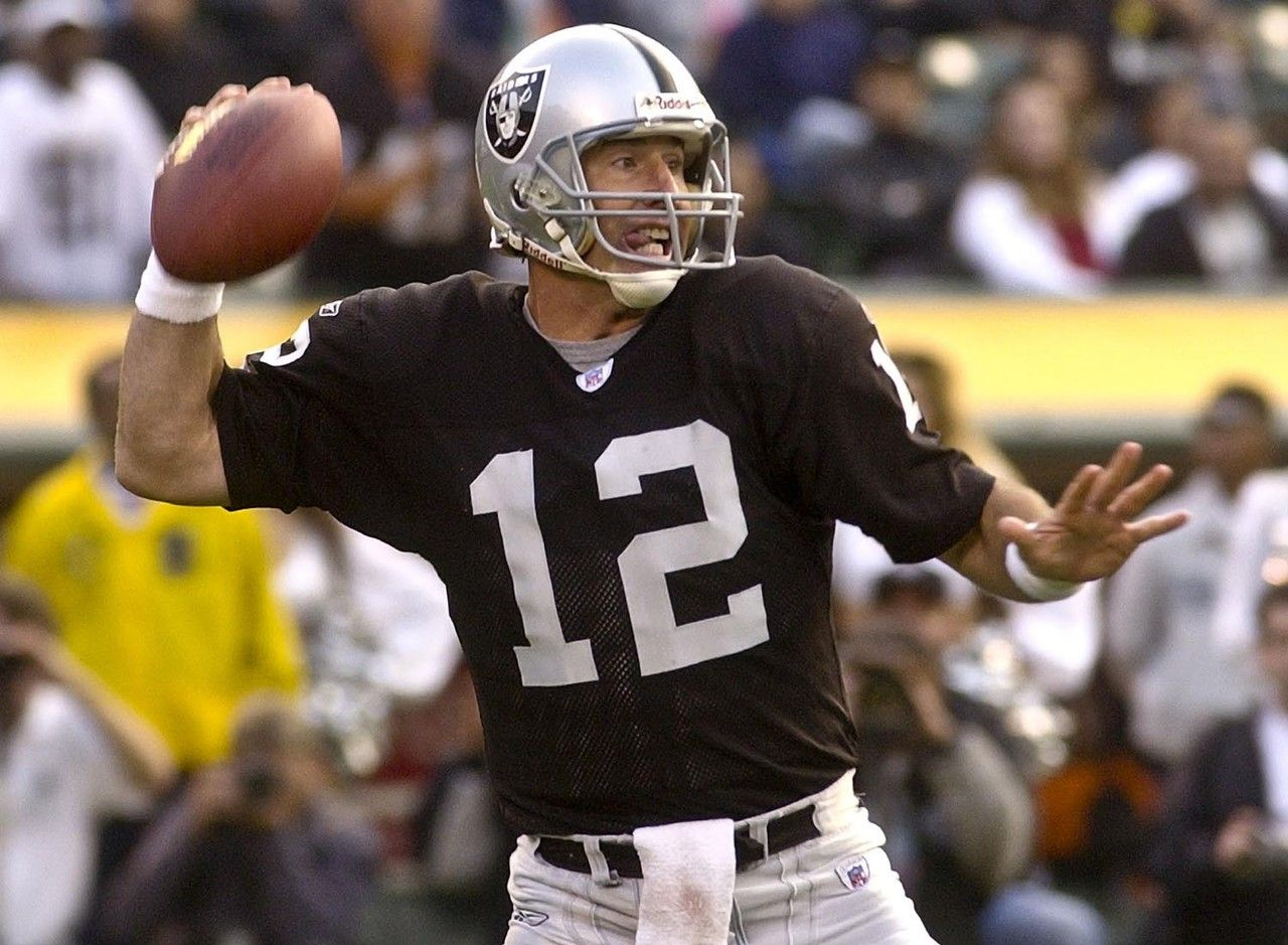 11fed4d2afd CAPTION  Rich Gannon playing for the Oakland Raiders SOURCE  Pinterest