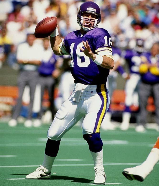 b4059cd4a4d CAPTION  Rich Gannon playing for the Minnesota Vikings SOURCE  Pinterest