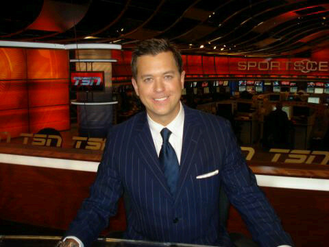 The 2 Time Cancer Survivor Tsn Reporter Bryan Mudryk Married To Sn S Sportscenter Reporter Natasha How Much Does He Earn Annually
