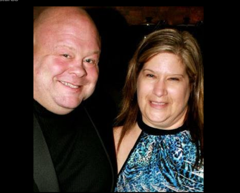 Eric Esch with quiet, Wife Libby Gaskin