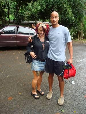 Aleeza Goggins with her former husband