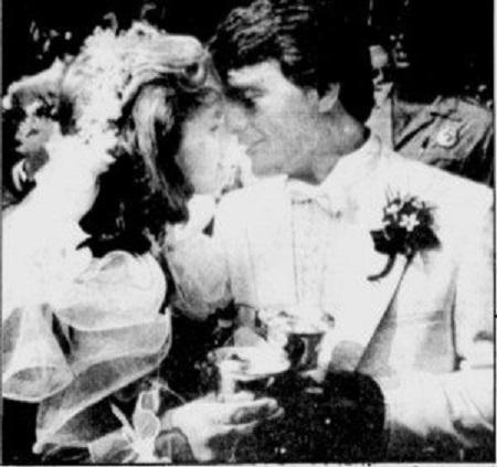 Laurie weds Doug Flutie