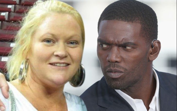 Randy Moss and his former wife Libby Offutt