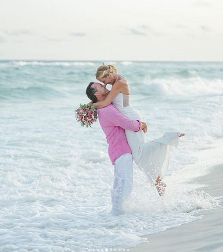 Dawn Davenport married Travis Harter