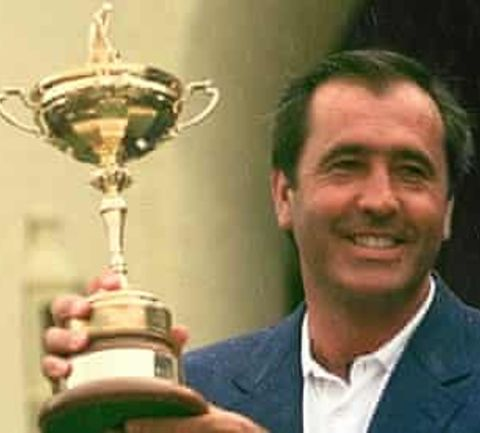 European Ryder Cup tribute to Seve Ballesteros