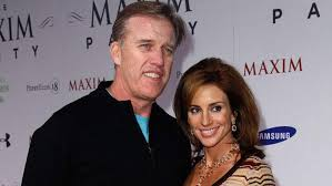Paige Green with her husband John Elway