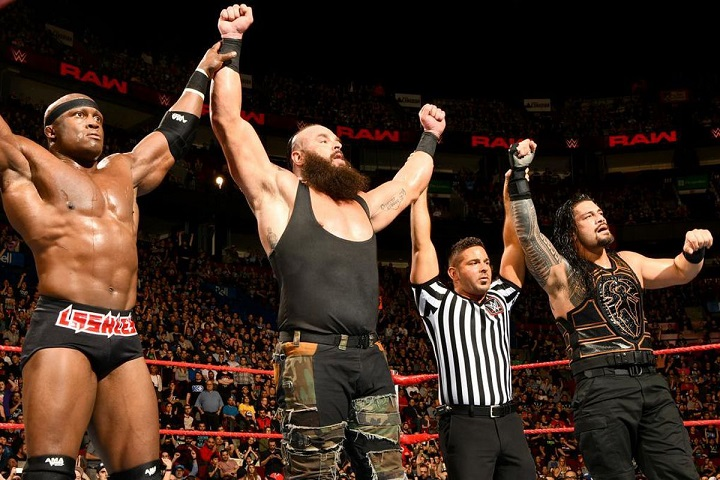 Roman Reigns Had Bobby Lashley And Braun Strowman To His Aid
