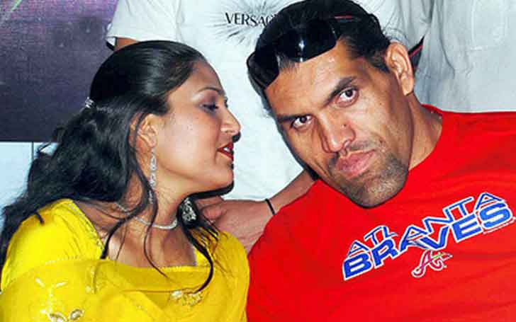 45 Years Professional Wrestler Great Khali Is In A Married Relationship With Wife Harminder Kaur Since