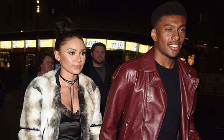 Alex Iwobi with Single
