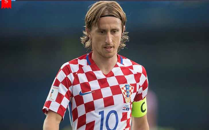 8dc6dad2a Real Madrid and Croatia National Team Midfielder Luka Modric s Salary and  Net Worth  His Overall Career Stats and World Cup Performances