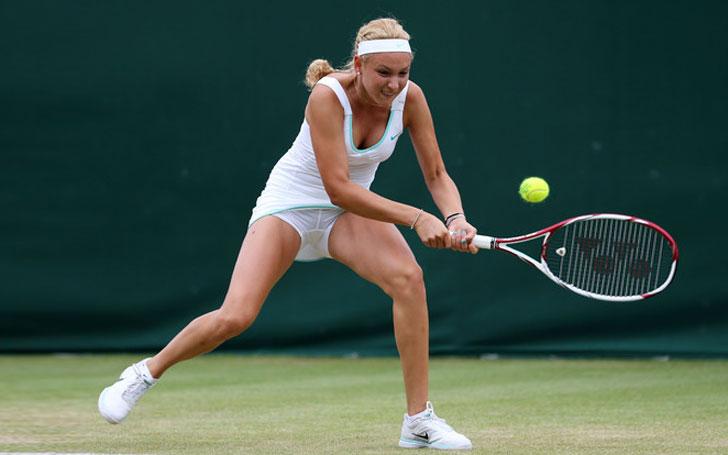 Australian Open - Vekic v Sharapova 1