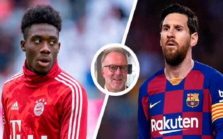 Bayern Munich Coach and the CEO believes Alphonso Davies will 'take care' of Lionel Messi