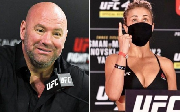 Dana White releases Instagram model UFC fighter Paige VanZant after she 'Got smoked' at UFC 251