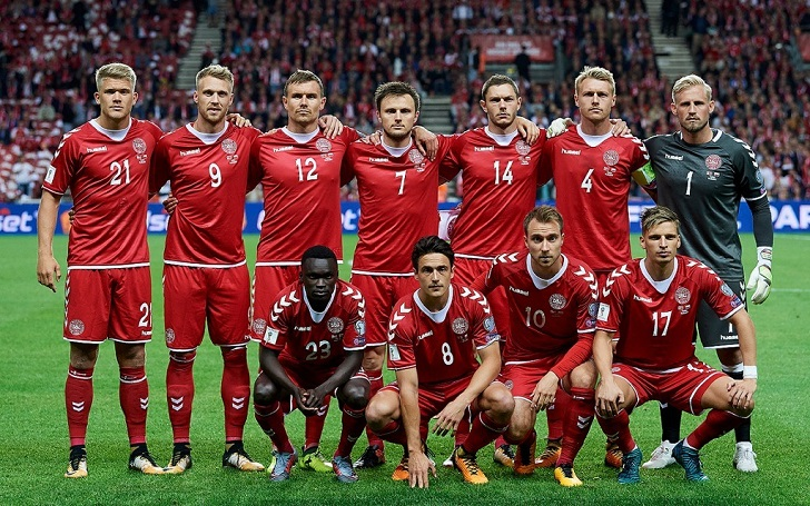 quality design de866 3f823 Denmark announces their 23-man squad for the World Cup 2018