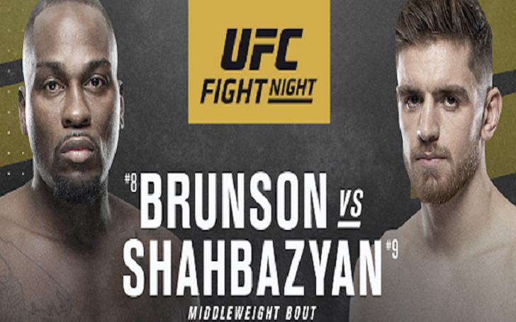 UFC On ESPN+ 31: Derek Brunson Vs. Edmen Shahbazyan Fight Card and Odds