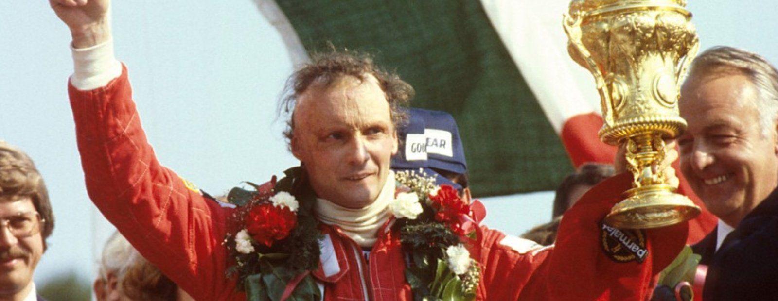 enzo ferrari and niki lauda with Niki Lauda on Flying Ferraris Flugplatz Niki Lauda German Gp 1975 as well 1 as well 350 Ediciones Especiales Ferrari Por Su 70 Cumpleanos 294083 likewise Shadow Dn5 Formula 1 Car as well Gilles Villeneuve.