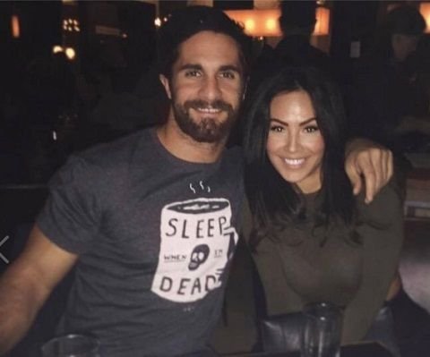 seth rollins engaged to leighla schultz is the couple