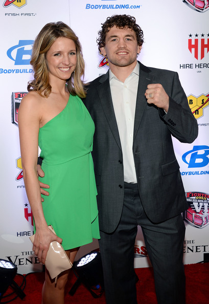 Ben Askren, who is famous semi-retired UFC fighter has a ...