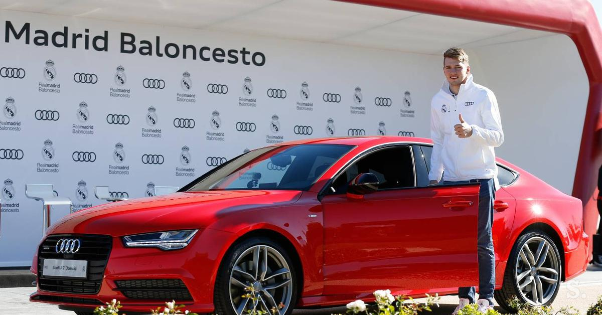 Who Owns Audi >> Luka Doncic, biography, wiki, salary, net worth, contract ...