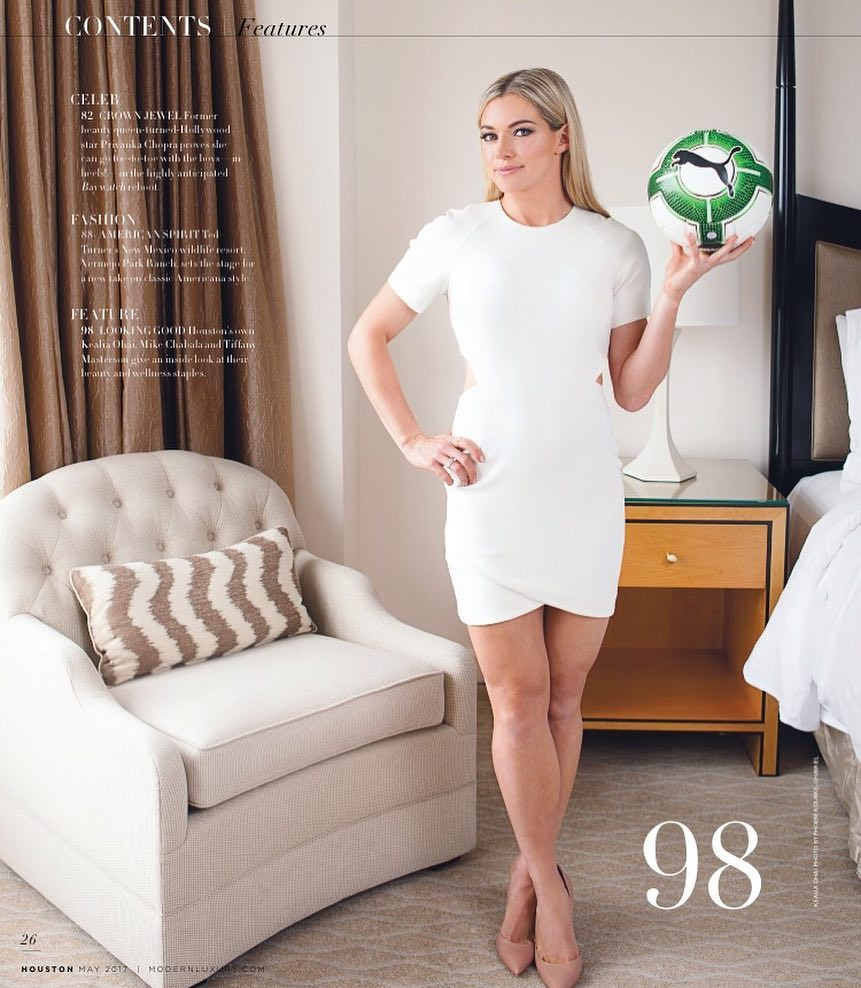 Jj Watt Wedding Pictures: Kealia Ohai Is A Popular Soccer Player Who Collected A Net