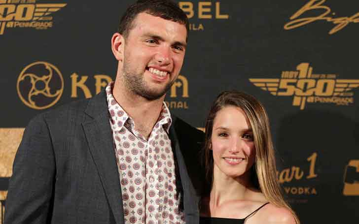 Andrew Luck is dating his Girlfriend Nicole Pechanec; Details about their Relationship and his Girlfriend