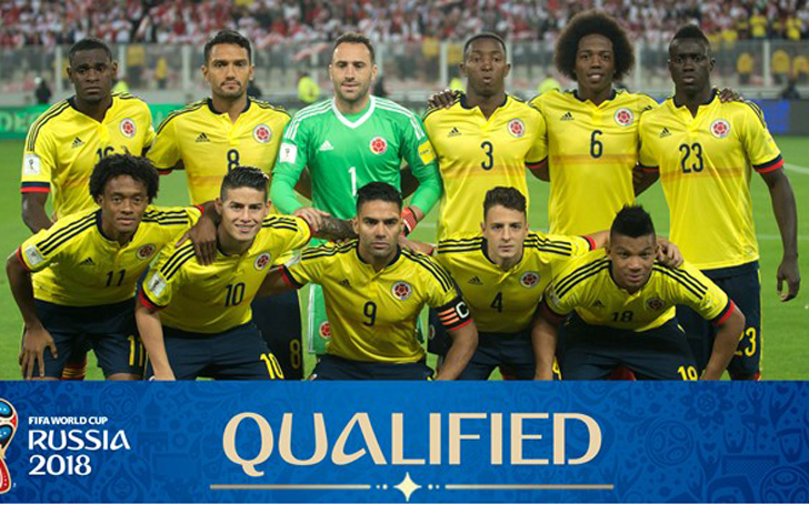 Columbia national team 2018 FIFA World Cup