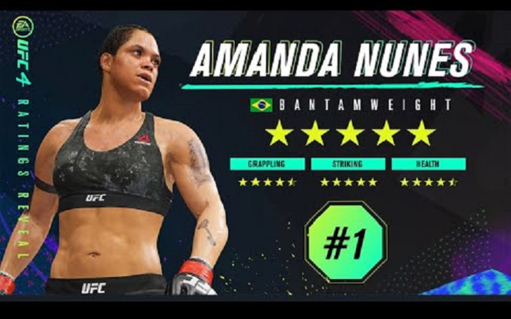 Amanda Nunes Dethrones Jon Jones from EA Sports UFC 4 Top Spot