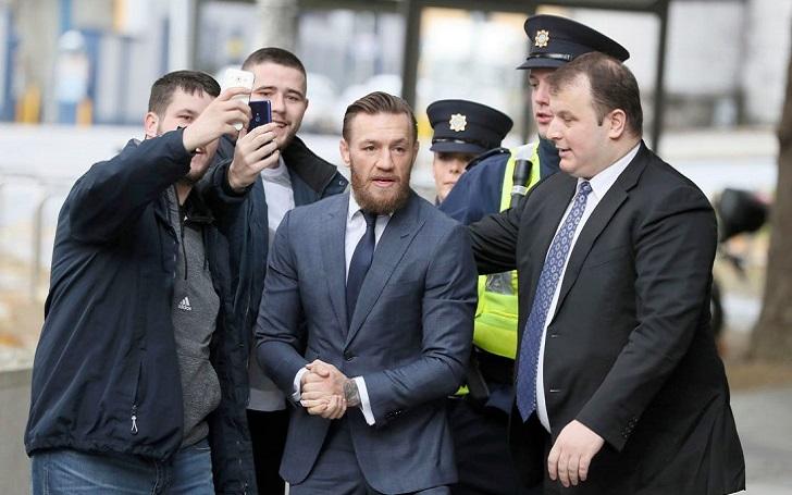 Conor McGregor fined 1,000 euros for Dublin Assault