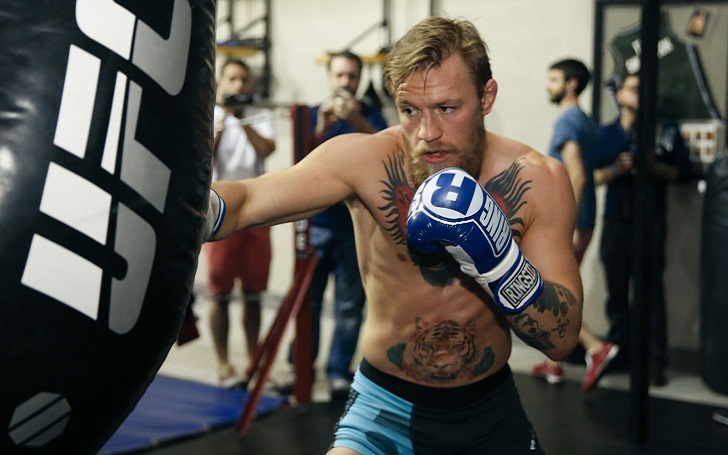 Conor McGregor Still Training after Retirement Announcement; Video Footage