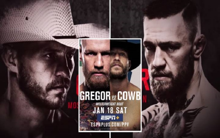 """Conor McGregor to Donald Cerrone after KO'ing at UFC 246: """"I love you Donald"""""""