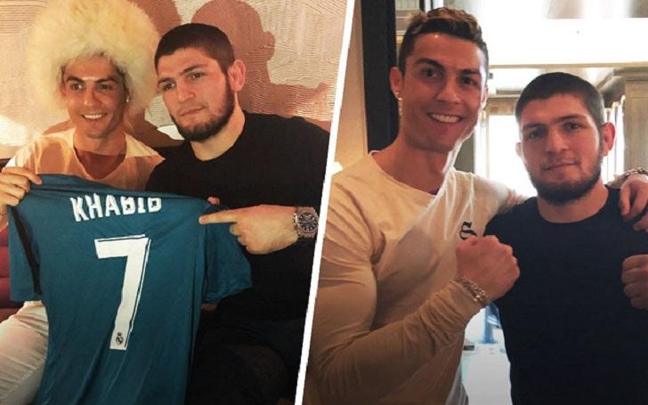 Cristiano Ronaldo Predicts Khabib Nurmagomedov Vs Justin Gaethje