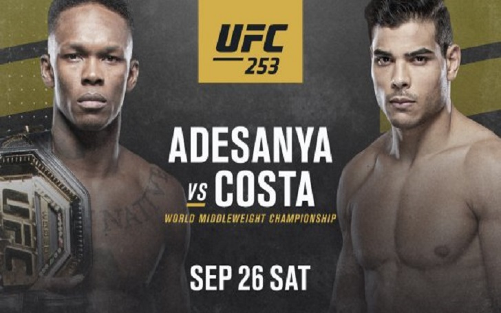 Dana White Believes Isreal Adesanya Vs Paulo Costa will be a 'Badass Fight'