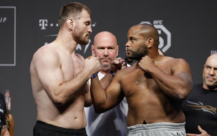 Dana White thinks there could be a Daniel Cormier- Stipe Miocic triology if DC doesn't retire