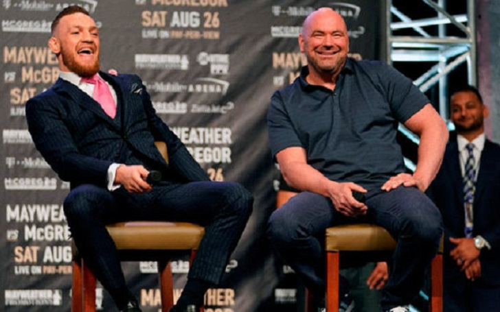 Dana White Defends Conor McGregor; He 'doesn't turn down fights, period'