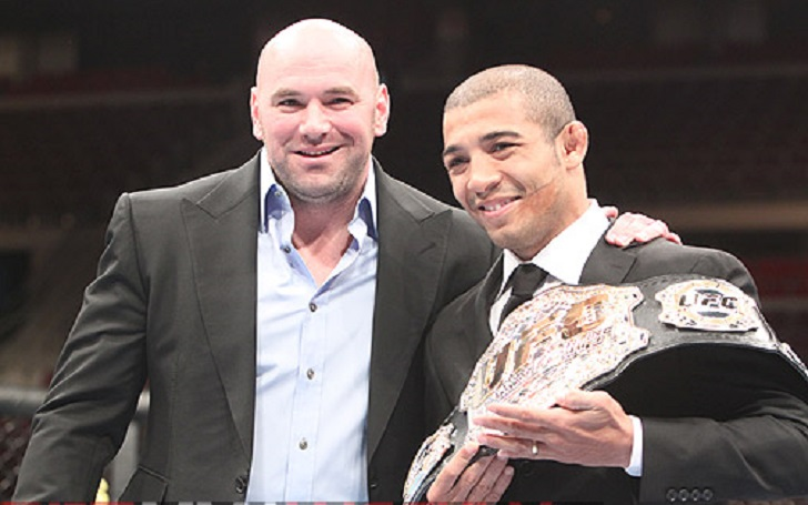 """Dana White on Jose Aldo's thoughts on moving to Bantamweight division: """"There's no way that kid can make 135 pounds"""""""