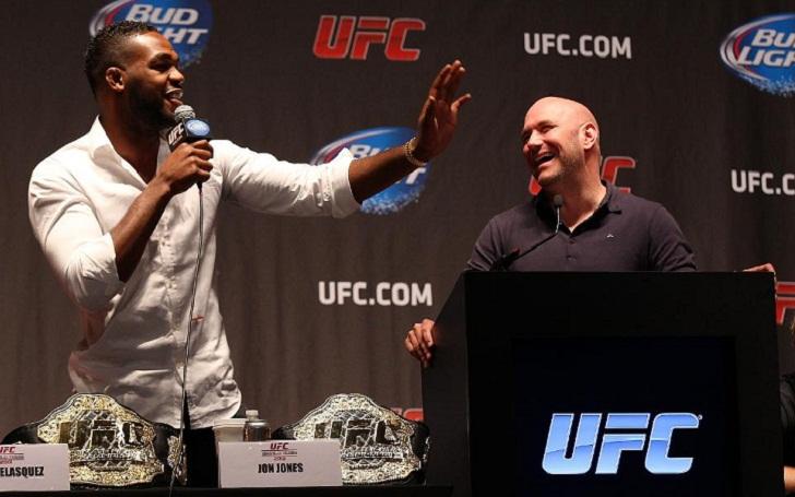 Dana White reacts to Jon Jones' choice to vacate UFC Light Heavyweight title