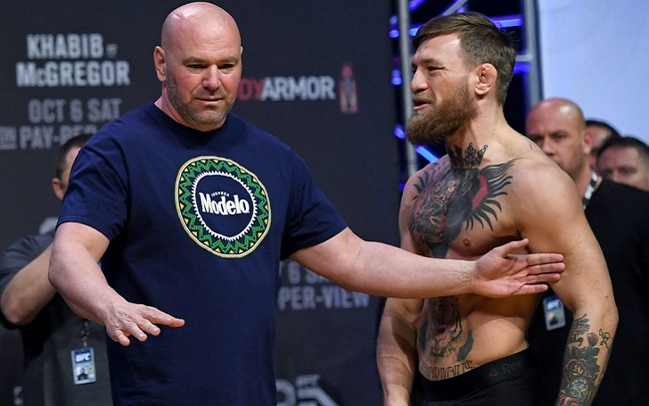 Dana White responds to McGregor's recent actions: 'It's Like Stealing Adesanya's Thunder'
