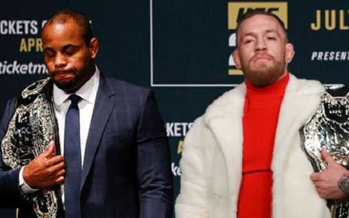 "Danie Cormier Believes Conor McGregor changed the UFC: ""People want to not give Conor credit for it."""