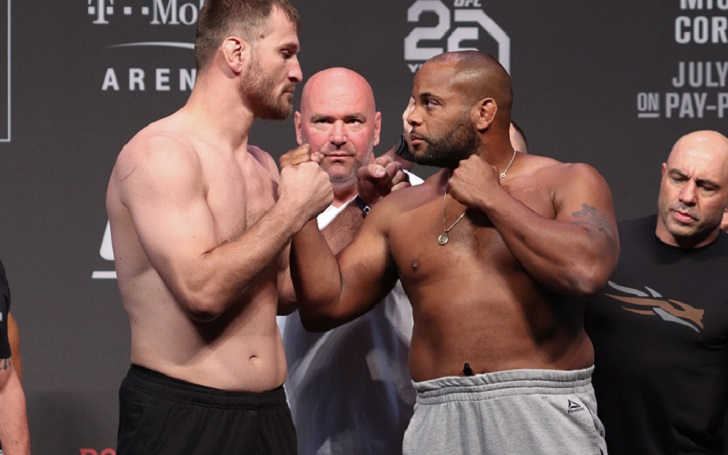 "Daniel Cormier on Stpie Miocic, ""I just don't think he's good enough to beat me."""