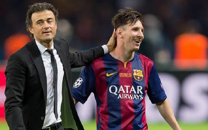 Former Barcelona Boss Luis Enrique Believes Lionel Messi will Leave the Club sooner or later