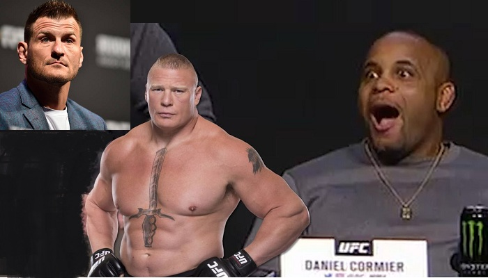 Is Daniel Cormier Still Up For A Super Fight With Brock Lesnar, After Miocic Fight?
