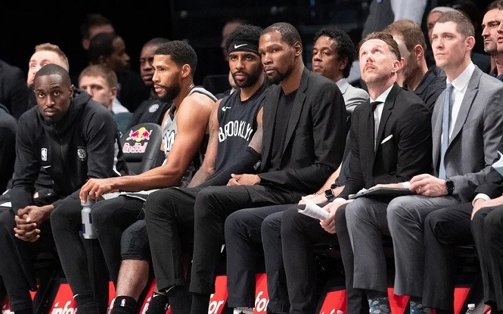 Kevin Durant along with three other Brooklyn Nets Players Test Positive for Coronavirus
