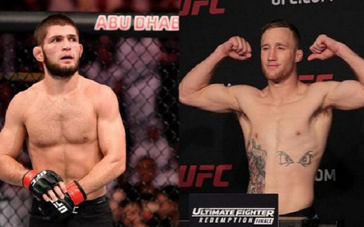 Khabib's Manager Reported that the LW Champion will Fight Justin Gaethje at the End of 2020