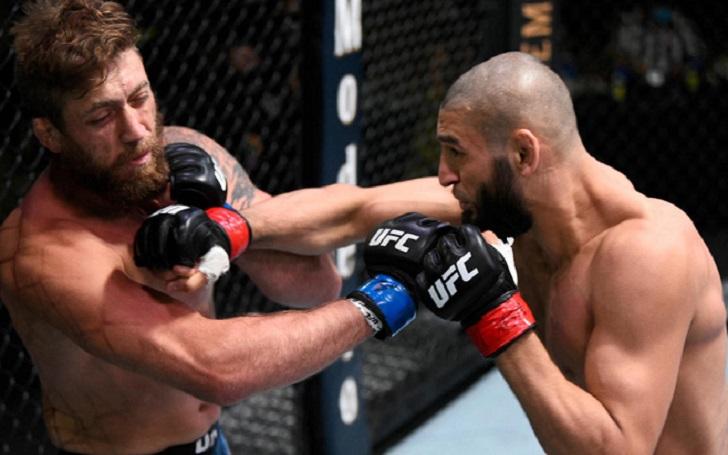 Khamzat Chimaev knocks out Gerald Meerschaert in 17 seconds at UFC Vegas 11; Twitter Reacts