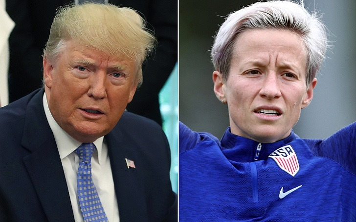 Megan Rapinoe- Not Visiting White House after World Cup Glory