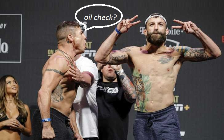 """Michael Chiesa To Diego Sanchez """"His Fingers Touched My Butthole"""""""