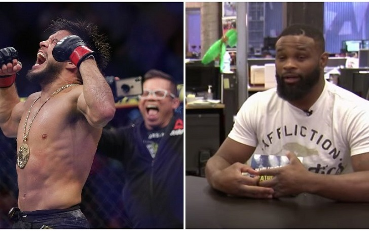 """Tyron Woodley's Message For Henry Cejudo's Antics: """"You're Annoying Everybody, Just Stop"""""""