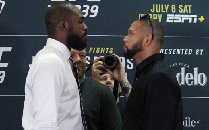 UFC 239 Faceoff: Pure intensity between Jon Jones and Thiago Santos